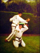 Young Master Andrew KH Rhee Breaking