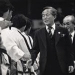 General Choi congratulates medal winners at the World Championship