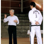 General Choi with his Assistant, Master Andrew K H Rhee, conducting an International Seminar